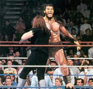 المصارع العملاق Giant Gonzalez