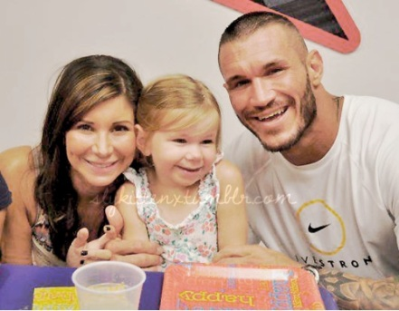 Randy Orton & HiS Daughter Alanna